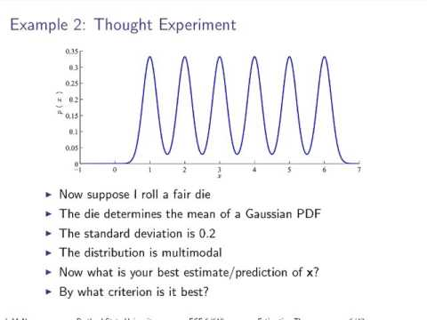SST T01 Estimation Theory - Part 1