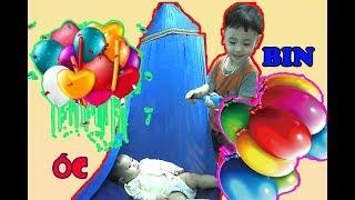 Cute Baby   Thư Giãn Với Bóng Bay Cùng Bé   ỐC Family