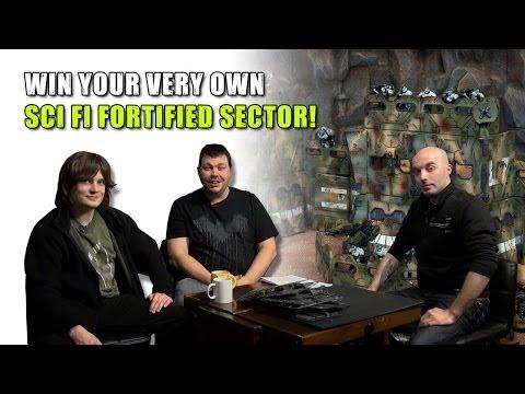 New 40K ORKS! & Win Terrain - Sci-Fi Fortified Sector!