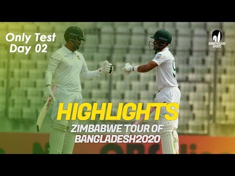Highlights | Bangladesh vs Zimbabwe | Only Test | Day 2 | Zi