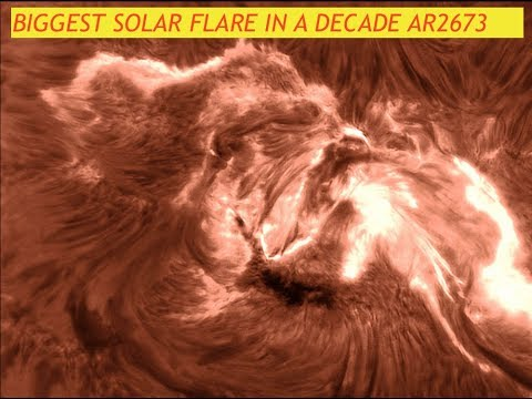 Largest Solar Flare in a Decade AR2673, Monster X9-Flare & Hurricane Irma Category 5, Latest