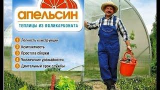 видео теплицы из поликарбоната в Москве