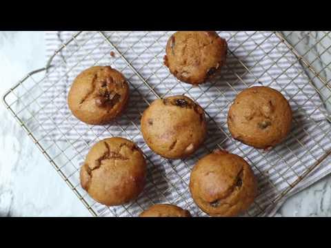 EASY Gluten Free Pumpkin Chocolate Chip Mini Muffins