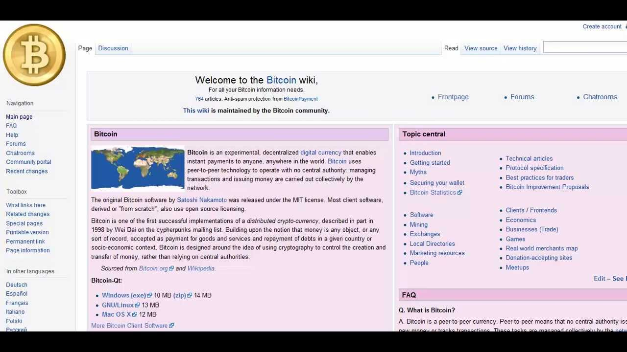 Bitcoin wiki youtube bitcoin wiki ccuart Images