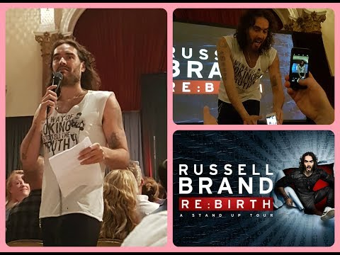 Russell Brand live Rebirth Tour 2017