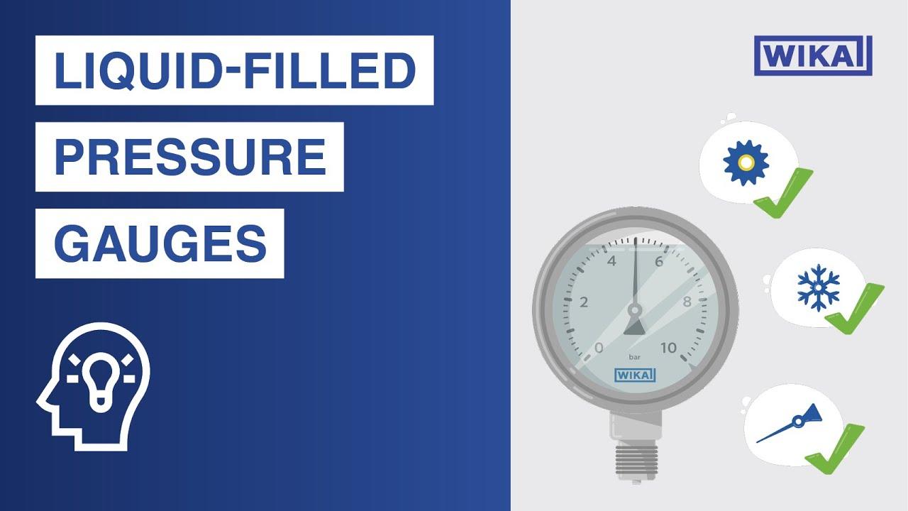 Liquid-filled pressure gauges | Advantages & application areas