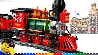 LEGO Disney Train & Station detailed overview & thoughts! 71044