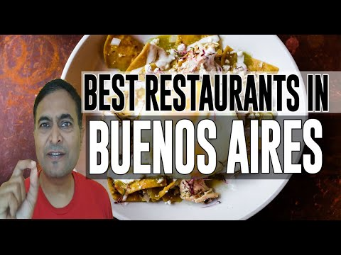 Best Restaurants And Places To Eat In Buenos Aires, Argentina