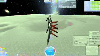 Kerbal Space Program | Warp-Capable Space Plane Mun Trip Thumbnail