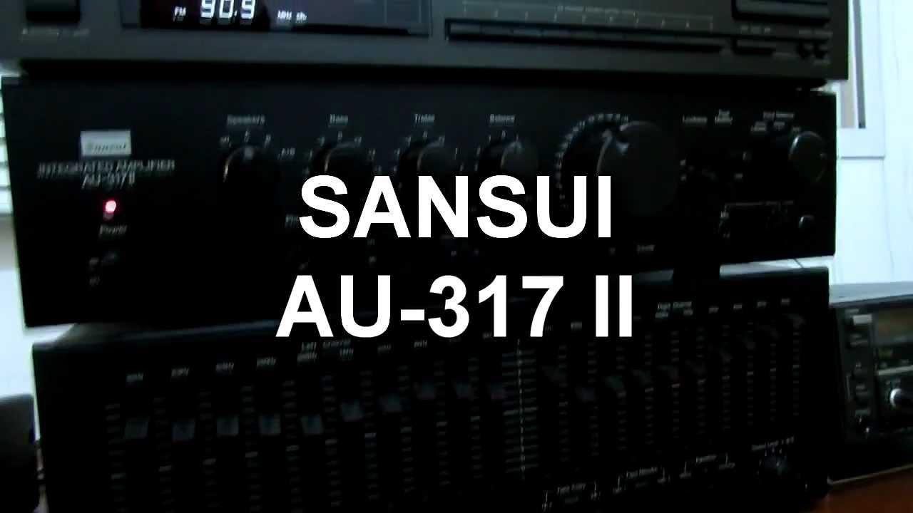 sansui au 317 ii youtube rh youtube com sansui tu-317 service manual sansui au 317 ii service manual