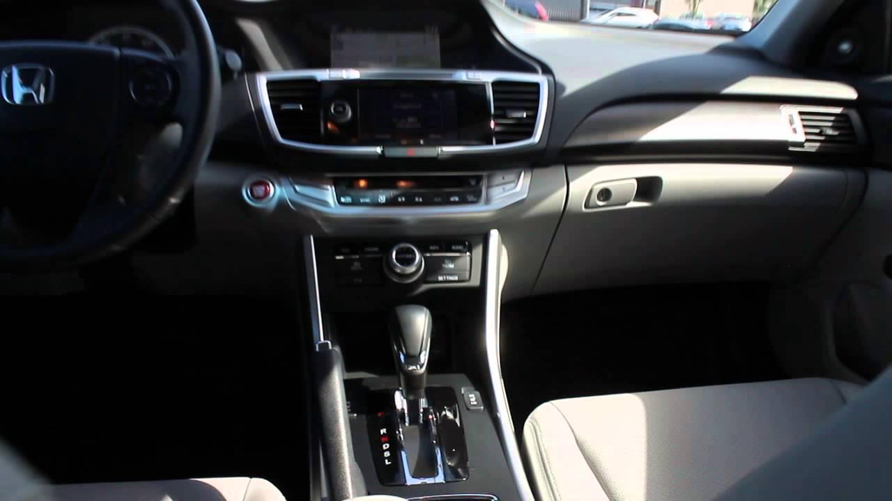 2013 Honda Accord, Silver   STOCK# B2976A   Interior