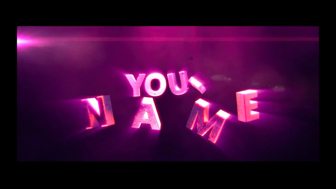 Free Epic 3d Text Reveal Intro Template 47 Tutorial
