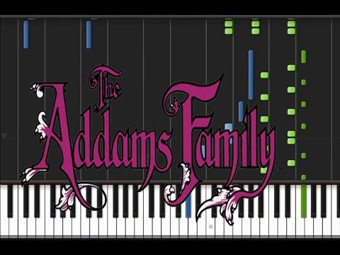 Addams Family - Main Theme [Piano Tutorial] (♫)
