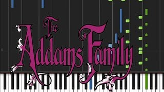Addams Family - Main Theme [Piano Tutorial] (♫)