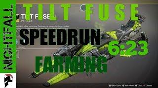 Destiny 2 - Tilt Fuse Farming Strategy- Nightfall Speedrun 6:23 - The Arms Dealer