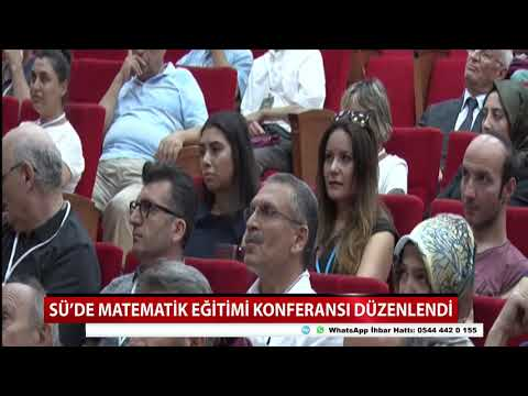 SÜ'de Matematik Eğitimi Konferansı Düzenlendi