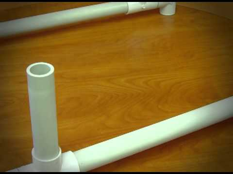 Instrucciones para fabricar andador pedi trico gait - Tubos cuadrados de pvc ...
