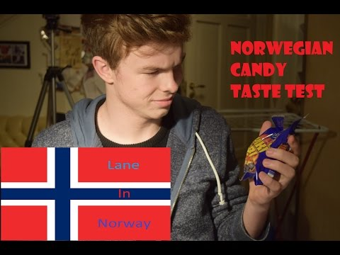 AMERICAN TRIES NORWEGIAN CANDY