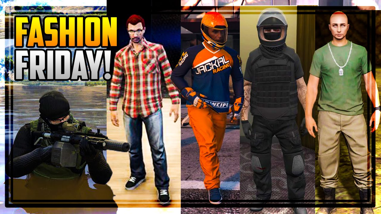 GTA 5 FASHION FRIDAY! 30 NEW OUTFITS! (Markiplier Swamp Operator Racer Outfits u0026 MANY MORE ...