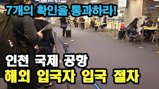 인천 공항 해외 입국자 입국 절차 - 애니악