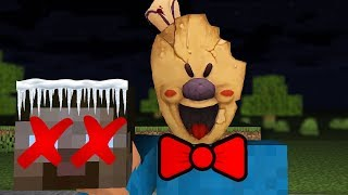 Monster School : Ice Scream Horror Game Challenge - Minecraft Animation
