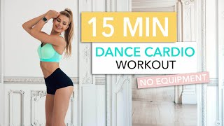 15 MIN DANCE CARDIO WORKOUT - 80s EDITION, burn calories and be happy / No Equipment I Pamela Reif