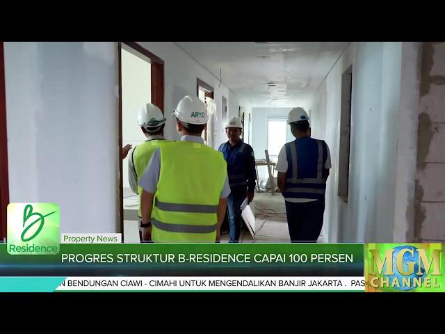 Update Progres Struktur B Residence Capai 100 Persen