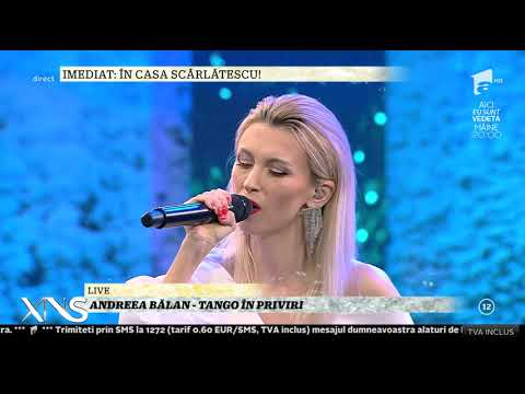 Live! Andreea Bălan - Tango în priviri