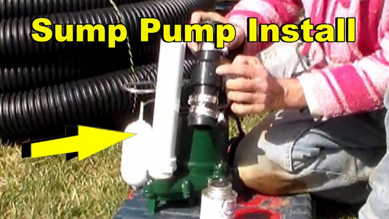 small resolution of sump pump set up zoeller m53