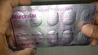 Allegra-M Tablets review in Hindi