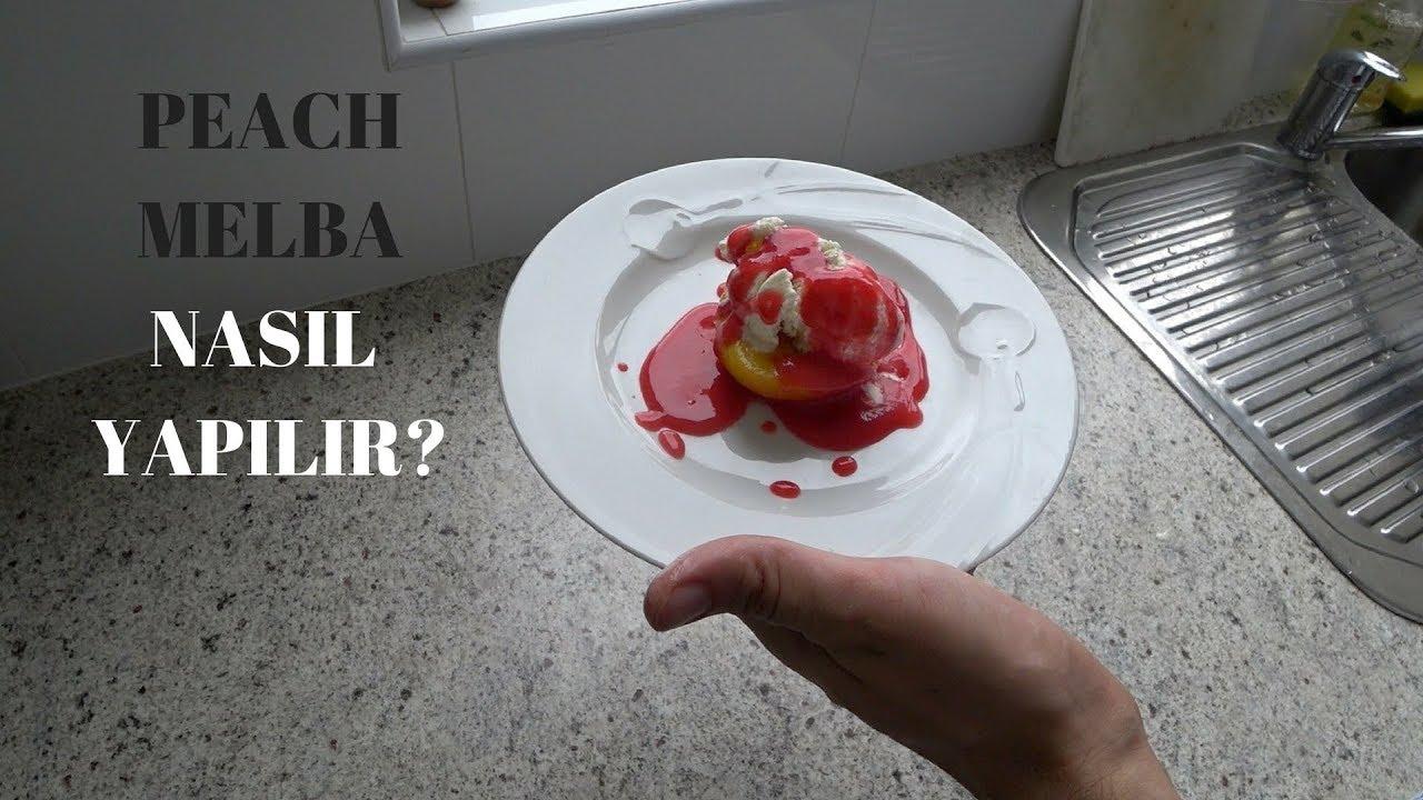 Basit ve Lezzetli Tatlı Peach Melba Nasıl Yapılır? | Yemek Tarifleri