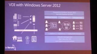 Deploying VDI with Windows Server 2012: Fast, Easy, & Fun! - BriForum 2012 Chicago