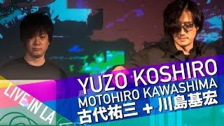 Yuzo Koshiro 古代祐三 Live LA Show Diggin' in the Carts with Motohiro Kawashima 川島基宏 in Full Stereo