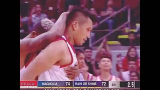Final moments of JAMES YAP CLUTCH GAME-WINNER over Magnolia.
