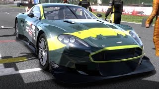 Need for Speed: Shift - Aston Martin Racing DBR9 - Test Drive Gameplay (HD) [1080p60FPS]
