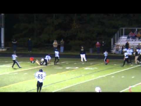 Justin Daniels Northeast high school Football #82