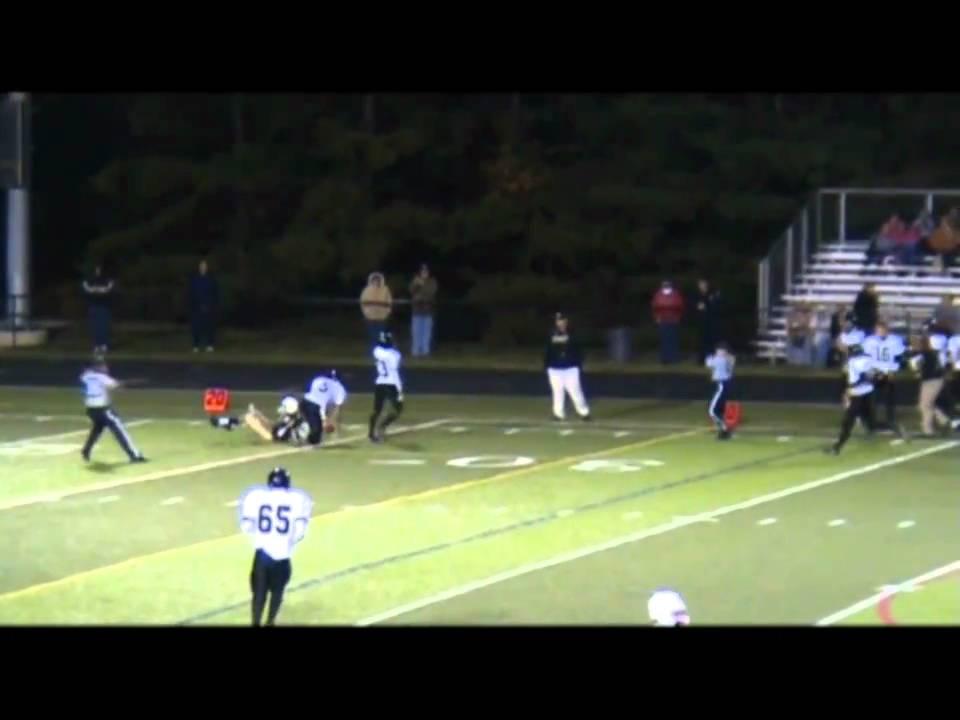 Justin Daniels Northeast high school Football #82 - YouTube