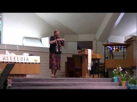 Mary Decker Preaches 4-7-13