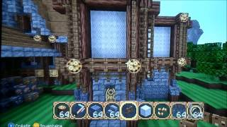 TUTO Minecraft XBOX 360/XBOX ONE/PS3/PS4 Maison Medievale
