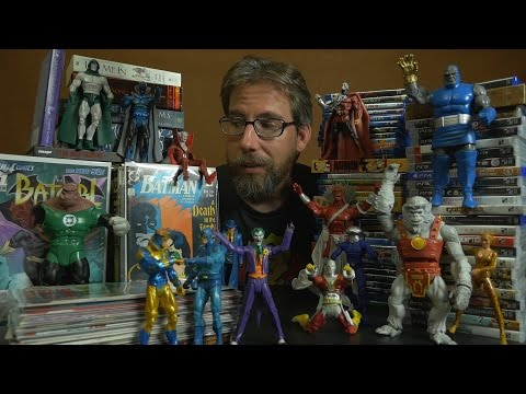 Let's Nerd Out! Part 1 of 2: Action Figures & Comic Books! [ ASMR ]