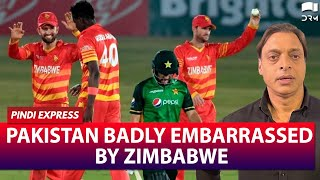 Pakistan Badly Embarrassed By Zimbabwe | PAK vs ZIM T20I | Shoaib Akhtar | SP1G