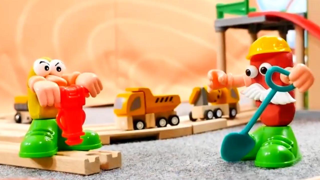 Download Spielzeug aus Holz - Züge und Fahrzeuge - Die Brücke - Brio toys