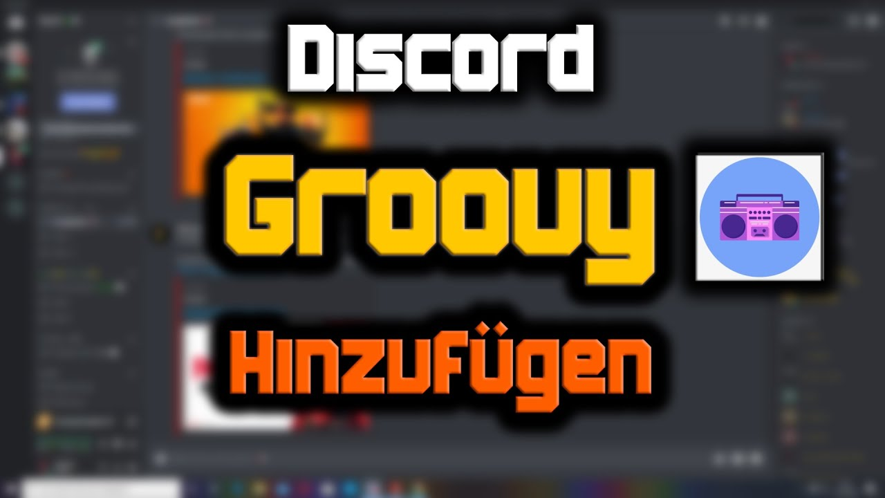 How to Add Groovy Bot in Discord