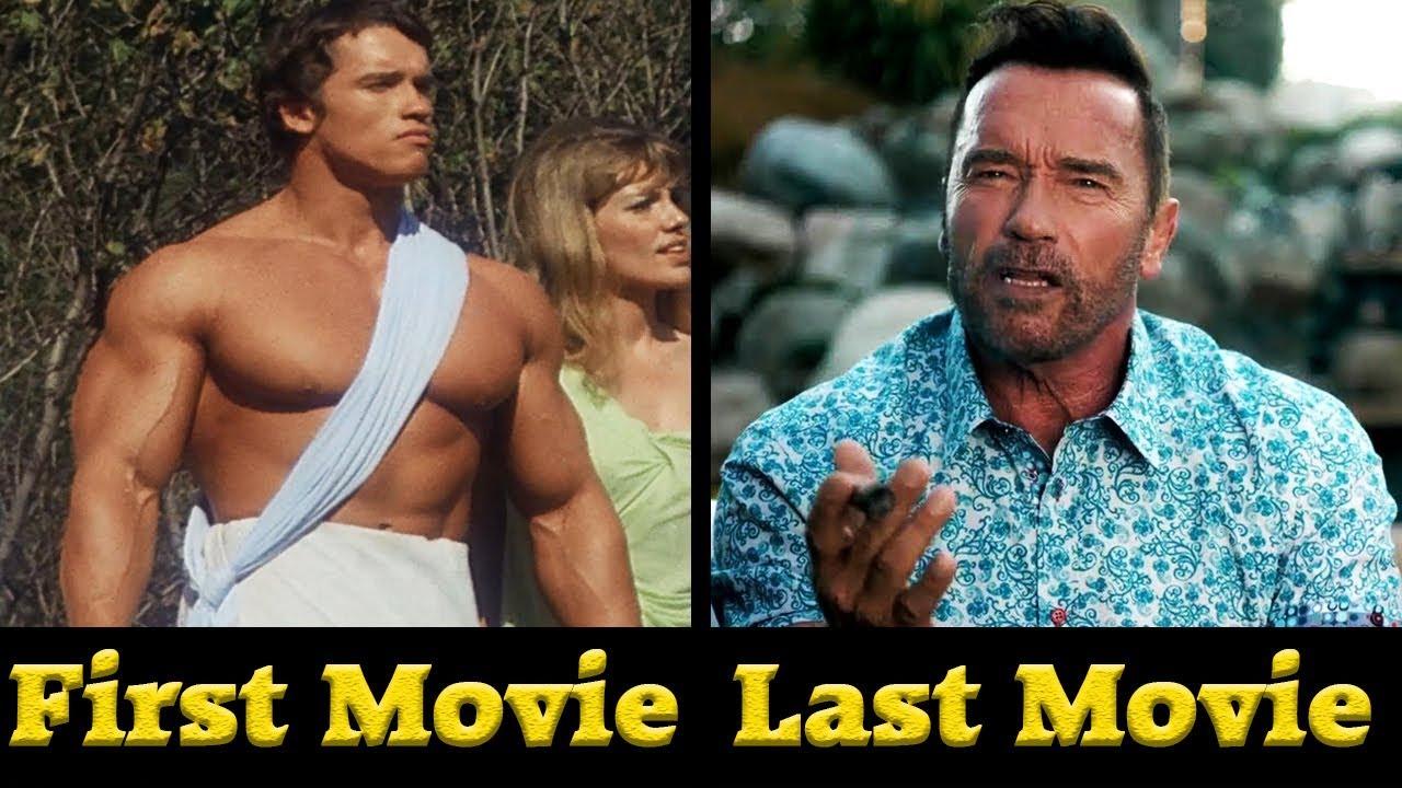 Arnold Schwarzenegger - All Movies (1970- 2018) - YouTube