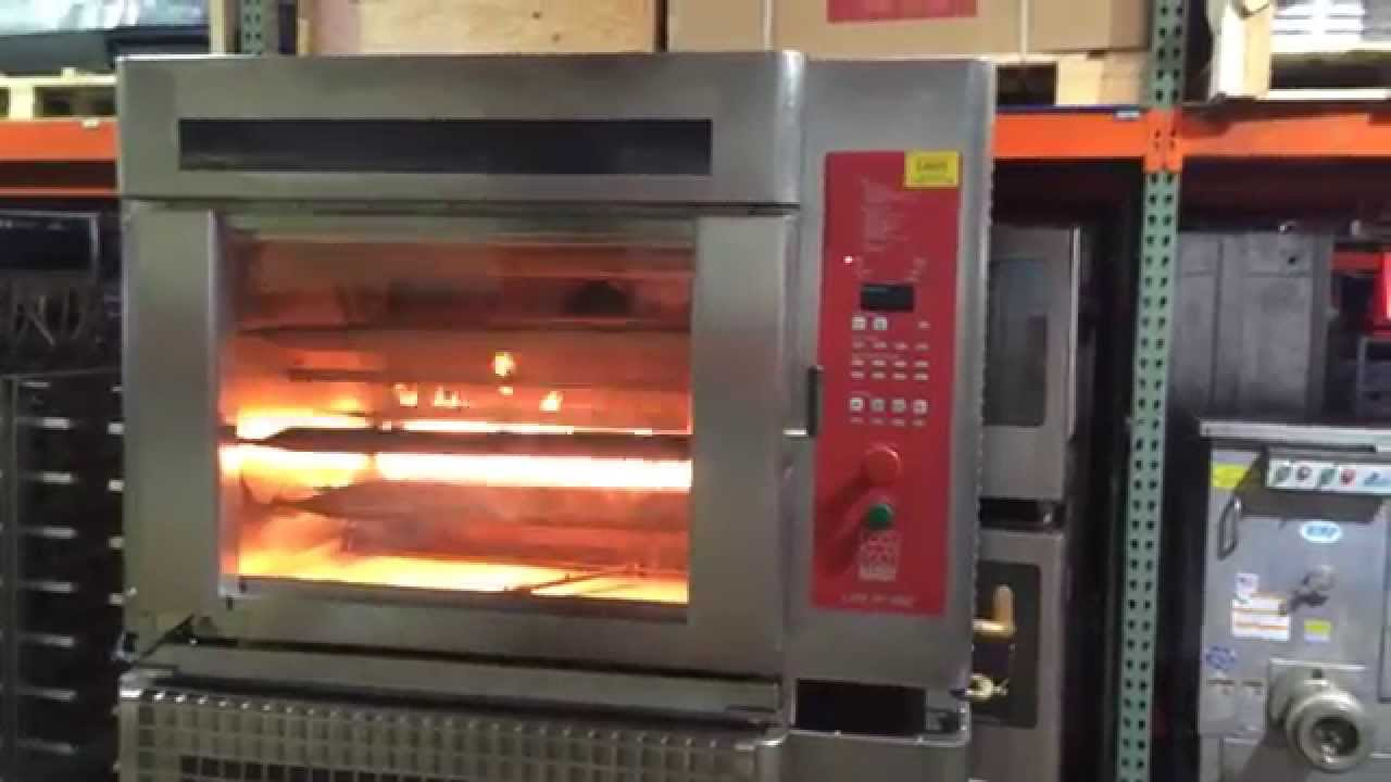 Hardt Inferno 3000 Gas Rotisserie Top Oven For Sale Youtube