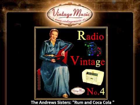 The Andrews Sisters - Rum and Coca Cola (VintageMusic.es)