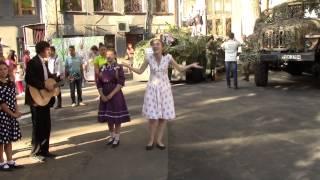 Празднование годовщины освобождения Донбасса