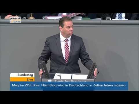 Bundestag: Debatte zum Etat für Wirtschaft und Energie (Teil 1) am 27.11.2014