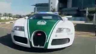 Dubai Police adds Bugatti Veyron to the super-cars fleet