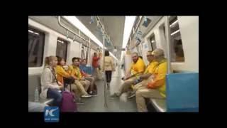 China-made subway serves Rio Olympics